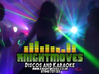 Logo for Knightmoves Discos & Karaoke