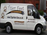 Logo for Tiger Feet Entertainment