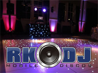 RK DJ Mobile Disco logo picture
