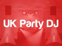 UK Party DJ logo picture