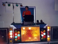 Blackpools Midas Disco logo picture
