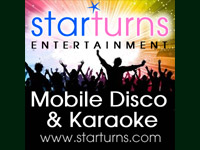 Logo for Starturns Entertainments