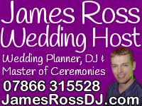 James Ross Wedding Host