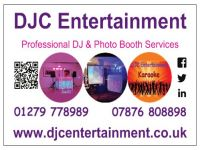 DJC Entertainment logo