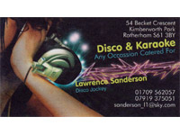 Logo for Madhatters Disco-Karaoke