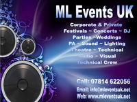 ML Events UK