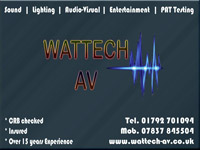 Wattech AV Entertainment Services