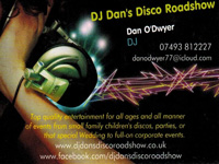 DJ Dan's Disco Roadshow logo picture