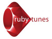 Logo for Ruby Tunes Mobile Disco