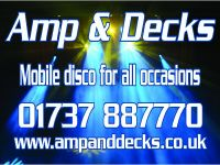 Amp and Decks logo picture