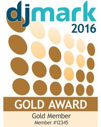 DJmark Gold Award