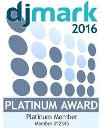 DJmark Platinum Award