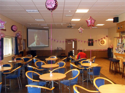 Party picture at Coalpit Heath Cricket Club
