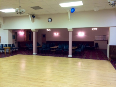 Party picture at Oldland Common Village Hall