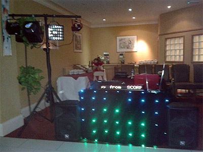 Party picture at Oriel House Hotel