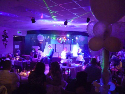 Party picture at Loveclough Working Mens Social Club