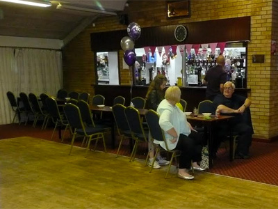 Party picture at Bellahouston Bowling Club