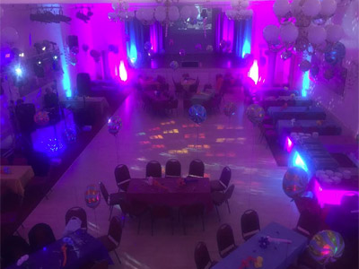 Party picture at Chipping Sodbury Town Hall