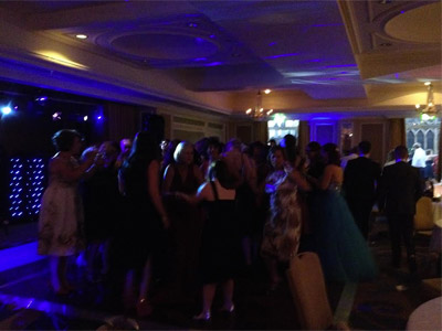 Party picture at Bristol Marriott Hotel City Centre