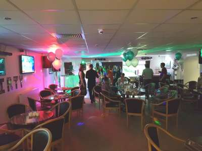 Party picture at Bar Lane Bowling Club