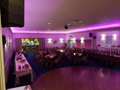 Party picture at Dobbies Sports & Social Club