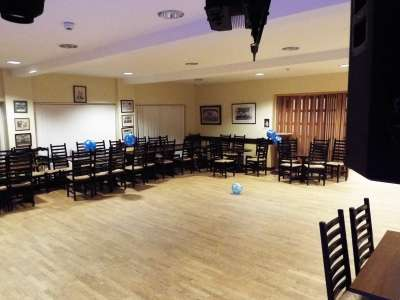 Party picture at Edenbridge Rugby Club