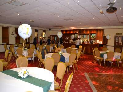 Party picture at Shortwood Lodge Golf Club